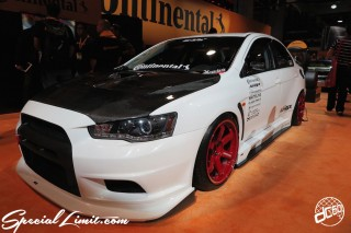 SEMA Show 2014 Las Vegas Convention Center dc601 Special Limit MITSUBISHI Lancer EVO Continental Tire