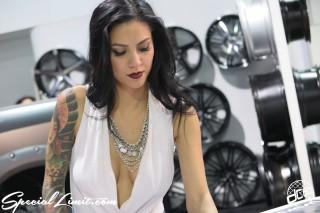 SEMA Show 2014 Las Vegas Convention Center dc601 Special Limit VERSANTE Image Girl Tatto