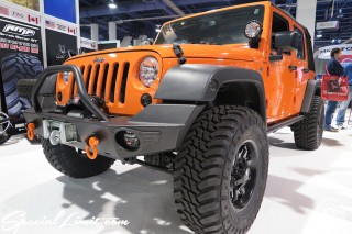 SEMA Show 2014 Las Vegas Convention Center dc601 Special Limit CHRYSLER Jeep Wrangler Unlimited