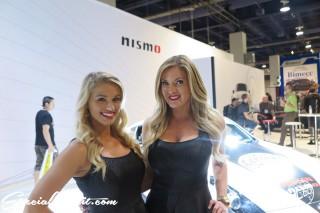 SEMA Show 2014 Las Vegas Convention Center dc601 Special Limit nismo Image Girl