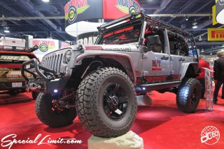 SEMA Show 2014 Las Vegas Convention Center dc601 Special Limit CHRYSLER Jeep Unlimited MICKY THOMPSON