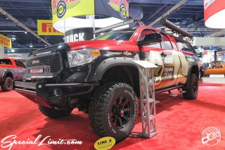 SEMA Show 2014 Las Vegas Convention Center dc601 Special Limit TOYOTA TRUCK