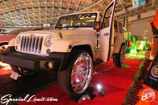 X-5 Nagoya Cross Five Vol.39 Final Port Messe dc601 Special Limit.com Booth GT Premium Custom USDM Audio Install Radical CHRYSLER JEEP Wrangler Unlimited FORGIATO