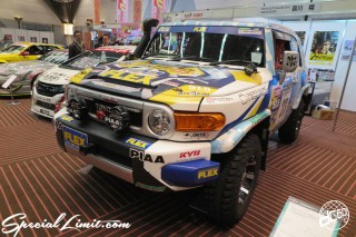 TOKYO Auto Salon 2015 Custom Car Demo JDM USDM Body Kit Coilover Suspension Wheels Campaign Girl Image New Parts Chiba Makuhari Messe Motor Show LEGEND OF TUNING CAR TOYOTA FT Cruiser FLEX