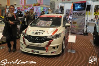 TOKYO Auto Salon 2015 Custom Car Demo JDM USDM Body Kit Coilover Suspension Wheels Campaign Girl Image New Parts Chiba Makuhari Messe Motor Show LEGEND OF TUNING CAR FONDA FIT CUSCO BOMEX