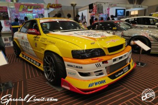 TOKYO Auto Salon 2015 Custom Car Demo JDM USDM Body Kit Coilover Suspension Wheels Campaign Girl Image New Parts Chiba Makuhari Messe Motor Show LEGEND OF TUNING CAR TOYOTA CHASER
