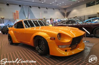 TOKYO Auto Salon 2015 Custom Car Demo JDM USDM Body Kit Coilover Suspension Wheels Campaign Girl Image New Parts Chiba Makuhari Messe Motor Show LEGEND OF TUNING CAR NISSAN Fairlady Z S30