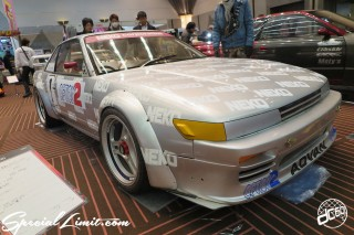 TOKYO Auto Salon 2015 Custom Car Demo JDM USDM Body Kit Coilover Suspension Wheels Campaign Girl Image New Parts Chiba Makuhari Messe Motor Show LEGEND OF TUNING CAR NISSAN SILVIA S13 ADVAN