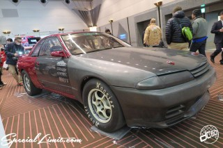 TOKYO Auto Salon 2015 Custom Car Demo JDM USDM Body Kit Coilover Suspension Wheels Campaign Girl Image New Parts Chiba Makuhari Messe Motor Show LEGEND OF TUNING CAR NISSAN Skyline GTR R33