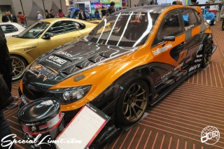 TOKYO Auto Salon 2015 Custom Car Demo JDM USDM Body Kit Coilover Suspension Wheels Campaign Girl Image New Parts Chiba Makuhari Messe Motor Show LEGEND OF TUNING CAR SUBARU IMPREZA