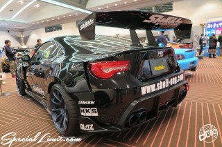 TOKYO Auto Salon 2015 Custom Car Demo JDM USDM Body Kit Coilover Suspension Wheels Campaign Girl Image New Parts Chiba Makuhari Messe Motor Show LEGEND OF TUNING CAR TOYOTA 86 Shell Engineering