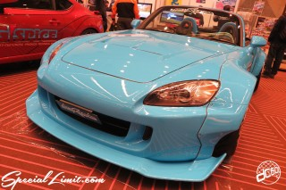 TOKYO Auto Salon 2015 Custom Car Demo JDM USDM Body Kit Coilover Suspension Wheels Campaign Girl Image New Parts Chiba Makuhari Messe Motor Show LEGEND OF TUNING CAR HONDA S2K Wide Body