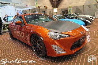TOKYO Auto Salon 2015 Custom Car Demo JDM USDM Body Kit Coilover Suspension Wheels Campaign Girl Image New Parts Chiba Makuhari Messe Motor Show LEGEND OF TUNING CAR TOYOTA 86
