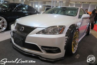 TOKYO Auto Salon 2015 Custom Car Demo JDM USDM Body Kit Coilover Suspension Wheels Campaign Girl Image New Parts Chiba Makuhari Messe Motor Show LEXUS IS