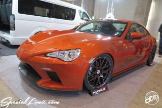 TOKYO Auto Salon 2015 Custom Car Demo JDM USDM Body Kit Coilover Suspension Wheels Campaign Girl Image New Parts Chiba Makuhari Messe Motor Show TOYOTA 86 Rocket Dancer