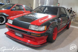 TOKYO Auto Salon 2015 Custom Car Demo JDM USDM Body Kit Coilover Suspension Wheels Campaign Girl Image New Parts Chiba Makuhari Messe Motor Show TOYOTA AE86