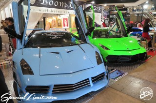 TOKYO Auto Salon 2015 Custom Car Demo JDM USDM Body Kit Coilover Suspension Wheels Campaign Girl Image New Parts Chiba Makuhari Messe Motor Show Boom Craft Lamborghini