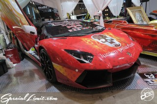 TOKYO Auto Salon 2015 Custom Car Demo JDM USDM Body Kit Coilover Suspension Wheels Campaign Girl Image New Parts Chiba Makuhari Messe Motor Show Boom Craft Aventador