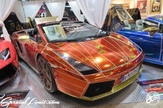 TOKYO Auto Salon 2015 Custom Car Demo JDM USDM Body Kit Coilover Suspension Wheels Campaign Girl Image New Parts Chiba Makuhari Messe Motor Show Lamborghini