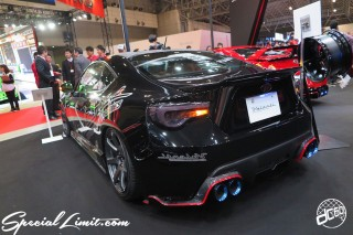 TOKYO Auto Salon 2015 Custom Car Demo JDM USDM Body Kit Coilover Suspension Wheels Campaign Girl Image New Parts Chiba Makuhari Messe Motor Show Valenti TOYOTA 86