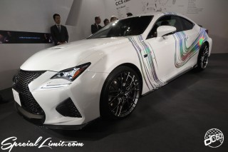TOKYO Auto Salon 2015 Custom Car Demo JDM USDM Body Kit Coilover Suspension Wheels Campaign Girl Image New Parts Chiba Makuhari Messe Motor Show LEXUS RC-F