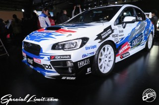 TOKYO Auto Salon 2015 Custom Car Demo JDM USDM Body Kit Coilover Suspension Wheels Campaign Girl Image New Parts Chiba Makuhari Messe Motor Show SUBARU STi