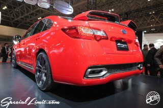 TOKYO Auto Salon 2015 Custom Car Demo JDM USDM Body Kit Coilover Suspension Wheels Campaign Girl Image New Parts Chiba Makuhari Messe Motor Show SUBARU LEGACY Blitzen