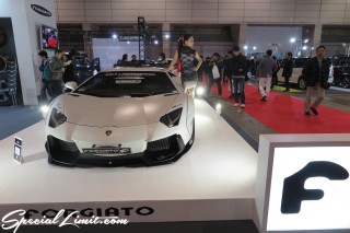TOKYO Auto Salon 2015 Custom Car Demo JDM USDM Body Kit Coilover Suspension Wheels Campaign Girl Image New Parts Chiba Makuhari Messe Motor Show FORGIATO Lamborghini Aventador Liberty Walk Widebody LB Performance