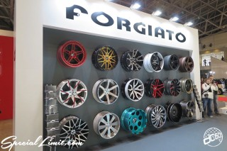 TOKYO Auto Salon 2015 Custom Car Demo JDM USDM Body Kit Coilover Suspension Wheels Campaign Girl Image New Parts Chiba Makuhari Messe Motor Show FORGIATO