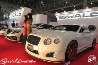TOKYO Auto Salon 2015 Custom Car Demo JDM USDM Body Kit Coilover Suspension Wheels Campaign Girl Image New Parts Chiba Makuhari Messe Motor Show WALD Black Bison Bentley Continental GT