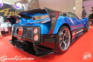 TOKYO Auto Salon 2015 Custom Car Demo JDM USDM Body Kit Coilover Suspension Wheels Campaign Girl Image New Parts Chiba Makuhari Messe Motor Show Anija PAGANI ZONDA