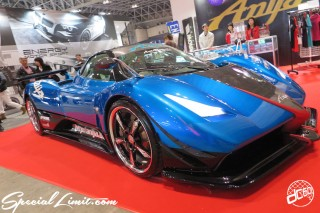 TOKYO Auto Salon 2015 Custom Car Demo JDM USDM Body Kit Coilover Suspension Wheels Campaign Girl Image New Parts Chiba Makuhari Messe Motor Show PAGANI ZONDA Anija