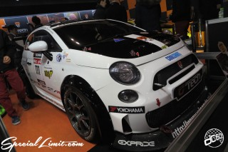 TOKYO Auto Salon 2015 Custom Car Demo JDM USDM Body Kit Coilover Suspension Wheels Campaign Girl Image New Parts Chiba Makuhari Messe Motor Show Fiat 500 ABARTH