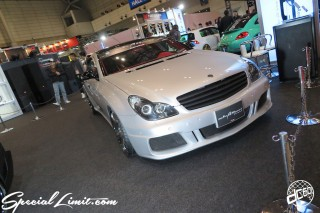 TOKYO Auto Salon 2015 Custom Car Demo JDM USDM Body Kit Coilover Suspension Wheels Campaign Girl Image New Parts Chiba Makuhari Messe Motor Show Mercedes Benz CLS