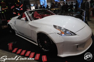 TOKYO Auto Salon 2015 Custom Car Demo JDM USDM Body Kit Coilover Suspension Wheels Campaign Girl Image New Parts Chiba Makuhari Messe Motor Show STAR DAST NISSAN Fairlady Z33 Z34 Faith Swap