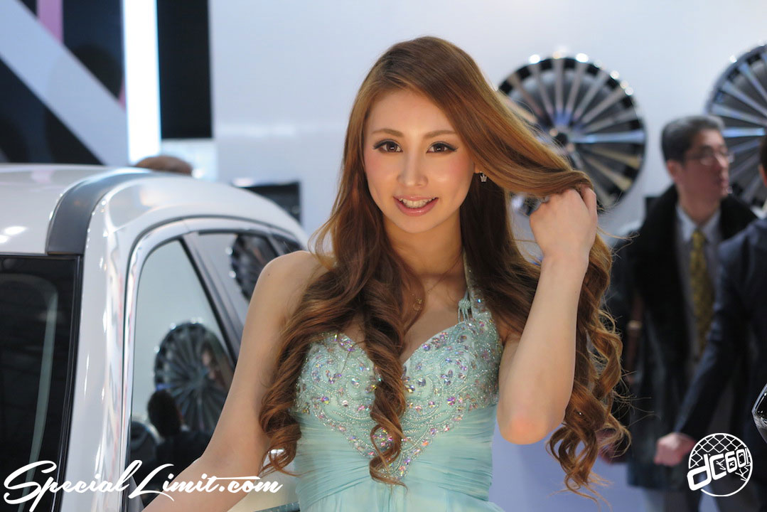 TOKYO Auto Salon 2015 Custom Car Demo JDM USDM Body Kit Coilover Suspension Wheels Campaign Girl Image New Parts Chiba Makuhari Messe M'Z SPEED