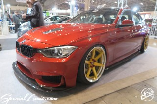 TOKYO Auto Salon 2015 Custom Car Demo JDM USDM Body Kit Coilover Suspension Wheels Campaign Girl Image New Parts Chiba Makuhari Messe Motor Show BMW F30