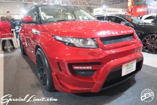 TOKYO Auto Salon 2015 Custom Car Demo JDM USDM Body Kit Coilover Suspension Wheels Campaign Girl Image New Parts Chiba Makuhari Messe Motor Show Range Rover