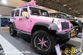 TOKYO Auto Salon 2015 Custom Car Demo JDM USDM Body Kit Coilover Suspension Wheels Campaign Girl Image New Parts Chiba Makuhari Messe Motor Show CHRYSLER JEEP Wrangler Unlimited Wrapping