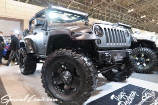 TOKYO Auto Salon 2015 Custom Car Demo JDM USDM Body Kit Coilover Suspension Wheels Campaign Girl Image New Parts Chiba Makuhari Messe Motor Show CHRYSLER Jeep Wrangler RUBICON