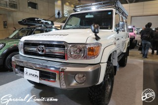 TOKYO Auto Salon 2015 Custom Car Demo JDM USDM Body Kit Coilover Suspension Wheels Campaign Girl Image New Parts Chiba Makuhari Messe Motor Show JAOS TOYOTA Land Cruiser 70