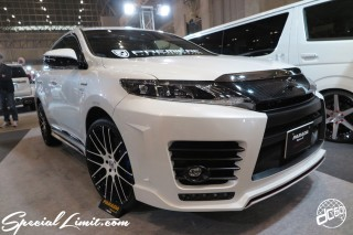 TOKYO Auto Salon 2015 Custom Car Demo JDM USDM Body Kit Coilover Suspension Wheels Campaign Girl Image New Parts Chiba Makuhari Messe Motor Show PREMIERE HARRIER