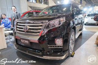 TOKYO Auto Salon 2015 Custom Car Demo JDM USDM Body Kit Coilover Suspension Wheels Campaign Girl Image New Parts Chiba Makuhari Messe Motor Show ELFORD Land Cruiser PRADO