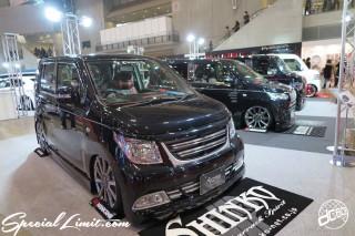 TOKYO Auto Salon 2015 Custom Car Demo JDM USDM Body Kit Coilover Suspension Wheels Campaign Girl Image New Parts Chiba Makuhari Messe Motor Show SUZUKI WagonR