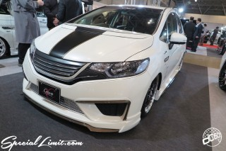 TOKYO Auto Salon 2015 Custom Car Demo JDM USDM Body Kit Coilover Suspension Wheels Campaign Girl Image New Parts Chiba Makuhari Messe Motor Show Crave HONDA FIT