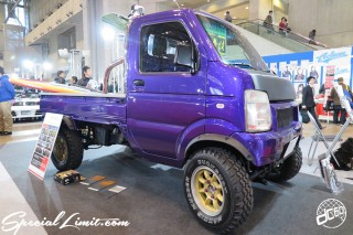 TOKYO Auto Salon 2015 Custom Car Demo JDM USDM Body Kit Coilover Suspension Wheels Campaign Girl Image New Parts Chiba Makuhari Messe Motor Show SUZUKI EVERY