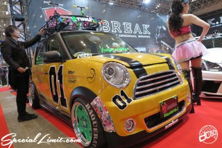 TOKYO Auto Salon 2015 Custom Car Demo JDM USDM Body Kit Coilover Suspension Wheels Campaign Girl Image New Parts Chiba Makuhari Messe Motor Show K.BREAK HONDA N-ONE SEEKER