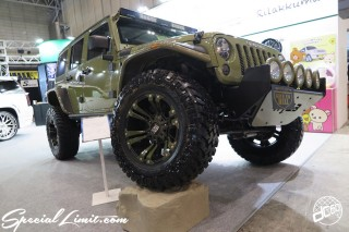 TOKYO Auto Salon 2015 Custom Car Demo JDM USDM Body Kit Coilover Suspension Wheels Campaign Girl Image New Parts Chiba Makuhari Messe Motor Show CHRYSLER Jeep Wrangler Unlimited XD Wheels