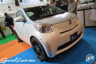 TOKYO Auto Salon 2015 Custom Car Demo JDM USDM Body Kit Coilover Suspension Wheels Campaign Girl Image New Parts Chiba Makuhari Messe Motor Show S DESIGN TOYOTA IQ