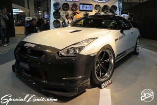 TOKYO Auto Salon 2015 Custom Car Demo JDM USDM Body Kit Coilover Suspension Wheels Campaign Girl Image New Parts Chiba Makuhari Messe Motor Show NISSAN R35 GT-R